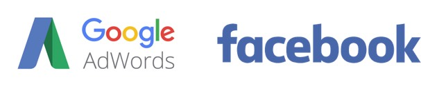 Google Adwords e Facebook